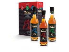 Rum Malteco Triple Pack 10yo + 15yo + 20yo 3 x 0,2 l