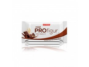 Nutrend tyčinka PROFIGUR MÜSLI čokoládová s tmavou čokoládou 33g