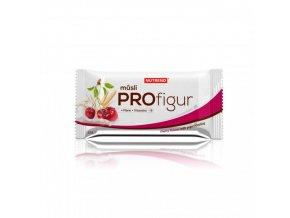 Nutrend tyčinka PROFIGUR MÜSLI višňová s jogurtovou polevou 33g