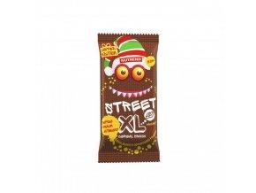 tycinka street xl cokoladova s jogurtovou polevou nutrend 30 g