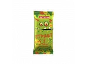 Nutrend tyčinka STREET XL FRUITY exotic v mléčné čokoládě 40g