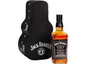 Jack Daniels kytara dárkové balení 0,7 l
