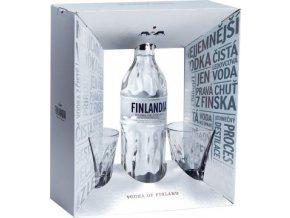 Finlandia dárkové balení se 2 skleničkami 0,7l