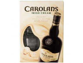 Carolans 0,7 l dárkové balení se skleničkami