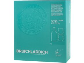 Bruichladdich the Classic Laddie 0,7 l se skleničkami