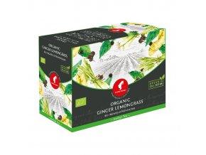 Prémiový čaj Asian Spirit Ingwer Lemongrass Organic 20x3 g Julius Meinl