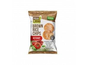 ryzove chipsy kecup rice up 60 g