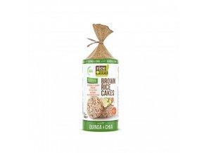Rýžové chlebíčky s chia a quinoa 120g Rice Up