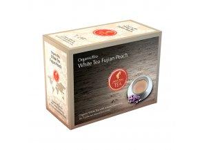 Prémiový čaj White Tea Fujian Peach Organic 20x3 g Julius Meinl
