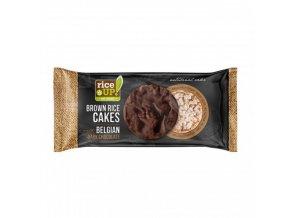 Rýžové chlebíčky s hořkou belgickou čokoládou 90g Rice Up
