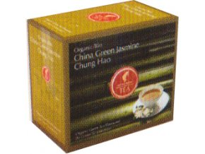 Prémiový čaj China Green Jasmin Chung Hao Organic 20x3 g Julius Meinl