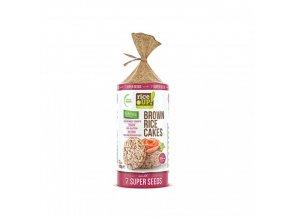 ryzove chlebicky se 7 druhy semen rice up 120 g