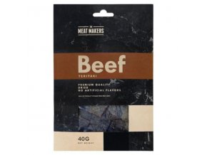 meat makers beef jerky teriyaki susene hovezi maso 40 g