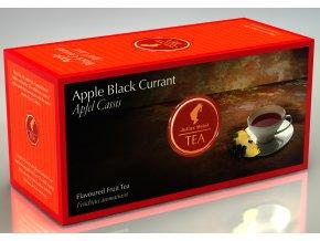 Prémiový čaj Jablečný s černým rybízem 25x1,75 g Julius Meinl