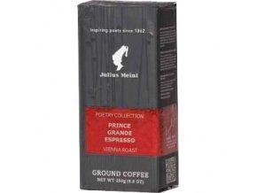 Prince Grande Espresso 250 g mletá káva Julius Meinl