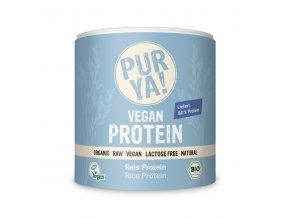 purya bio vegan ryzovy protein 250 g