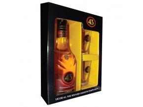 Licor 43 0,7 l dárkové balení se skleničkami