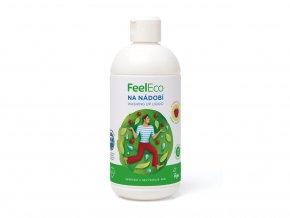 prostredek na nadobi malina feel eco 500 ml 3