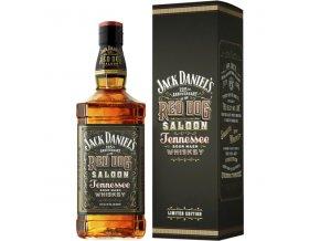 Jack Daniels Red dog saloon dárkové balení 43% 0,7l