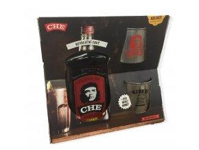 Che Guevara v dárkovém balení s 2 plecháčky 38% 0,7 l