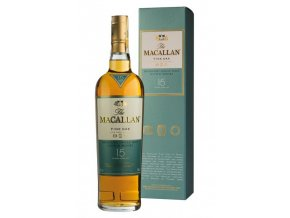 Whisky Macallan 15YO Fine oak single malt 43% 0,7l