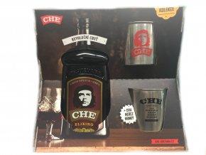 Che Guevara Elixiro v dárkovém balení s 2 plecháčky 34% 0,7 l