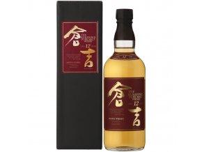 Whisky Kurayoshi Pure Malt 12YO Japanese v dárkovém balení 43% 0,7l