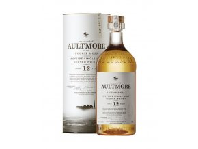 Whisky Aultmore 12YO v tubě 46% 0,7l