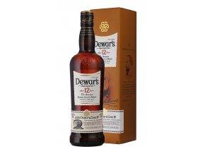 Whisky Dewars 12YO v tubě 40% 0,7l