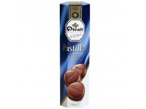 Bonboniéra Pastilles Milk - pastilky z mléčné čokolády 100g Droste