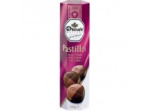 pastiles milk dark 100g pastilky mlecna horka cokolada