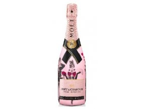 Moet Chandon Rose Unconvetional Love - Valentýnská edice 0,75l
