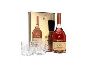 Rémy Martin Accord Royal v dárkovém balení se 2 skleničkami