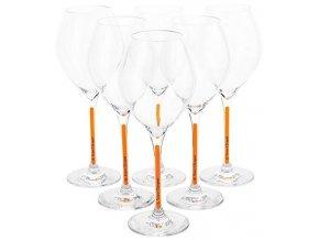 Sklenička na šampaňské Veuve Clicquot