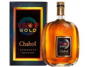 Armagnac VSOP De Luxe 0,7 l Chabot dárkové balení