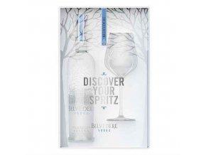 Vodka Belvedere Pure SPRITZ 0,7l dárkové balení