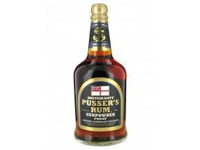 Pussers Gunpowder British Navy 54,5% 0,7 l (holá láhev)