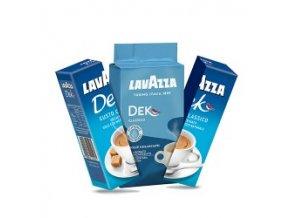 Káva Lavazza Dek - bez kofeinu - mletá 250g