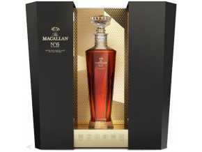 the macallan no. 6 highland single malt scotch whisky in lalique 1