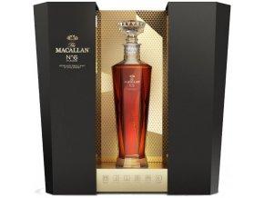 the macallan no. 6 highland single malt scotch whisky in lalique 1
