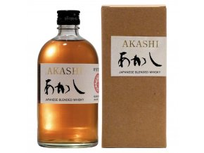 akashi blended whisky 70cl temp