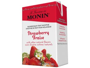 Monin Smoothie Jahoda 1 l
