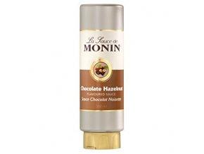 Monin Sauce Chocolate Hazelnut - poleva - Lískooříšková Čokoláda 0,5 l