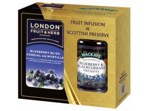 Gift Pack Blueberry - Dárková sada čaj Borůvka a Džem Borůvka s černým rybízem