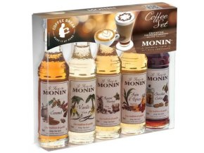 Monin Coffee box mini 5 x 50 ml - kávový box malý