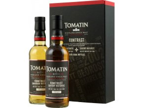 Whisky Tomatin Contrast 46% 2 x 0,35 l