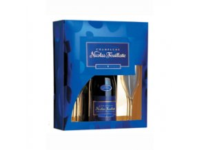 Nicolas Feuillatte Reserve Particuliere Brut 0,75 l dárkové balení se skleničkami
