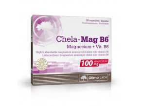 olimp chela mag b6 magnesium vit b6 30 kapsli