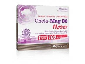olimp chela mag b6 magnesium vit b6 mama 30 kapsli