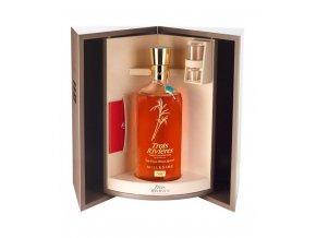 Rum Trois Rivieres Carafe Baccarat Millesime 1980 - dárkové balení 45% 0,7l
